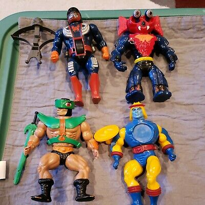 $60 • Buy MOTU Vintage Mattel He-Man Masters Of The Universe Lot Of 4 Figures With Weapons