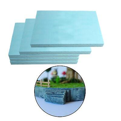 £6.54 • Buy 5 Pieces Diorama Bases Foam Slab Model For Model Making Kits Material