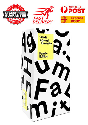 AU33.95 • Buy Cards Against Humanity Family Edition Main Game