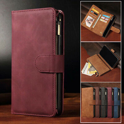 AU16.99 • Buy For IPhone 12 11 13 Pro Max Mini XS 7 8 Plus Case Wallet Leather Card Flip Cover