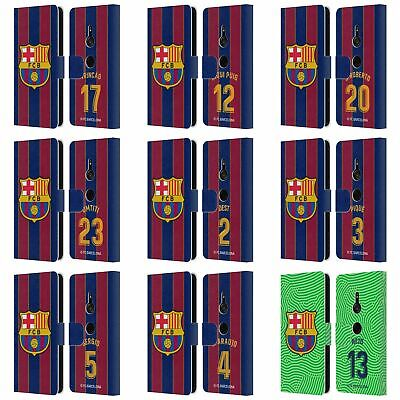 AU30.95 • Buy Fc Barcelona 2020/21 Players Home Kit Group 2 Leather Book Case For Sony Phone 1