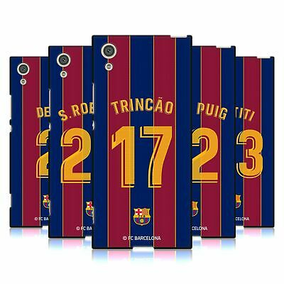 AU29.95 • Buy Fc Barcelona 2020/21 Players Home Kit Group 2 Black Gel Case For Sony Phones