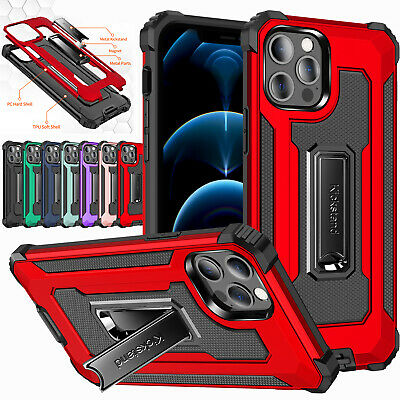 £4.95 • Buy IPhone 11 12 Pro Max XR SE 8 7Plus Shockproof Hybrid Armor Heavy Duty Case Cover