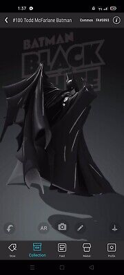 $999.99 • Buy Veve Collectibles First Ever NFT Todd McFarlane Batman First Appearance 893/7500