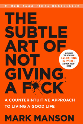 AU2.96 • Buy The Subtle Art Of Not Giving A Fck A Counterintuitive Approach To Living A Good