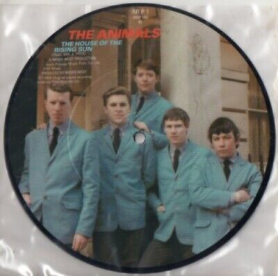 £15.95 • Buy The House Of The Rising Sun Animals 7  Vinyl Picture Disc Single UK RRP1