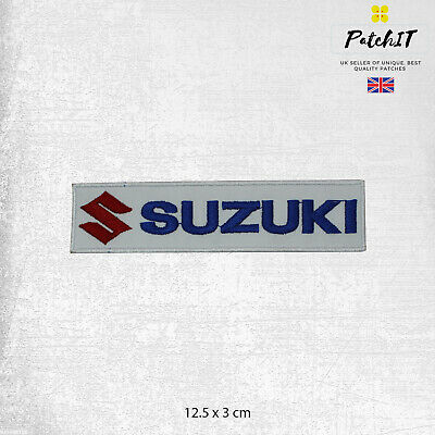 £1.99 • Buy Suzuki Motor Car Brand Logo Patch Iron On Patch Sew On Badge Embroidered Patch