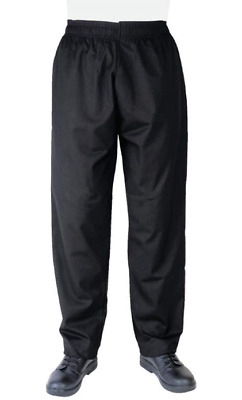 £7.99 • Buy Chefs Apparel A582-S Trousers, Polycotton, Size S, Black *NEW*