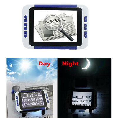 £59.39 • Buy 3.5  LCD Screen Smart Fr Low Vision 2-32x Zoom Magnifier Electronic Reading Aid