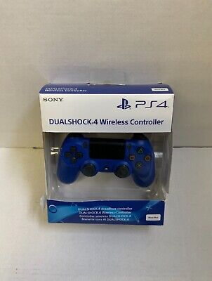 Sony PlayStation PS4 DualShock 4 Wireless Controller Blue • 12.50£