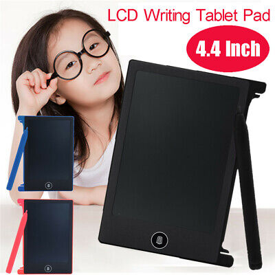 AU10.93 • Buy 4.4 In LCD Writing Tablet Doodle Board Kids Writing Pad Drawing Graphics Boards