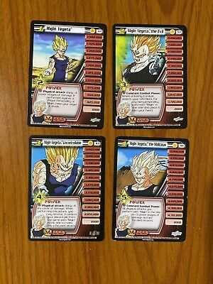 AU19.99 • Buy Dragon Ball Z DBZ CCG Babidi Saga Majin Vegeta Level 1-4 Personality