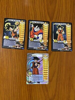 AU59.99 • Buy Dragon Ball Z DBZ CCG WGS World Games Saga Goku Level 1-3 + HT Personality Set
