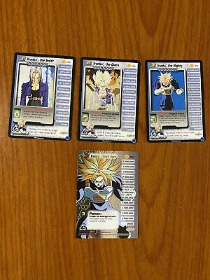 AU69.99 • Buy Dragon Ball Z DBZ CCG Cell Saga Trunks Level 1-3 + HT Personality Set