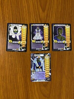 AU49.99 • Buy Dragon Ball Z DBZ CCG WGS World Games Saga Pikkon Level 1-3 + HT Personality Set