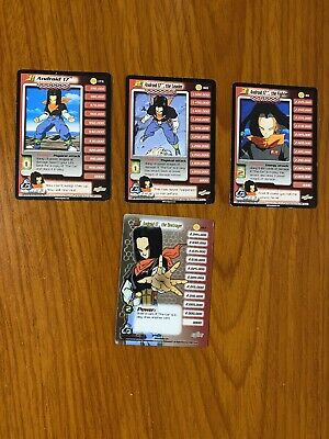AU69.99 • Buy Dragon Ball Z DBZ CCG Cell Saga Android 17 Level 1-3 + HT Personality Set