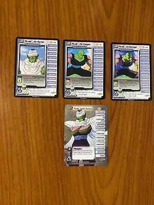 AU69.99 • Buy Dragon Ball Z DBZ CCG Cell Saga Piccolo Level 1-3 + HT Personality Set