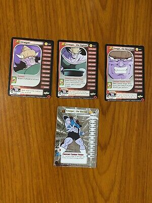 AU29.99 • Buy Dragon Ball Z DBZ CCG Trunks Saga Vinegar Level 1-3 + HT Personality Set