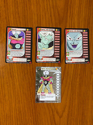 AU29.99 • Buy Dragon Ball Z DBZ CCG Trunks Saga Spice Level 1-3 + HT Personality Set