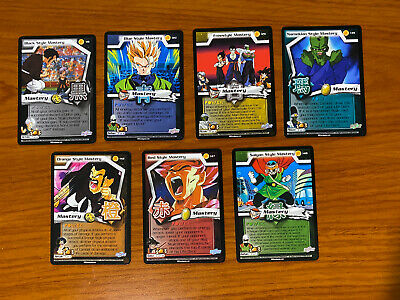 AU34.99 • Buy Dragon Ball Z DBZ CCG WGS World Games Saga Mastery Set Of 7
