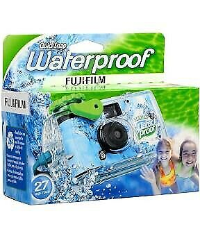 £14.19 • Buy Fujifilm Quick Snap Waterproof Disposable Camera