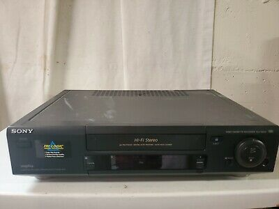 AU26.87 • Buy Sony Hi-Fi Stereo VHS VCR Recorder/Player SLV-760HF - No Remote Tested Cables