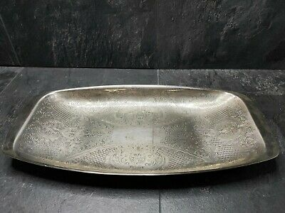 £16 • Buy  Cavalier  Vintage Silver Plated Tray 13