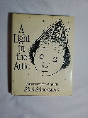 A LIGHT IN THE ATTIC By Shel Silverstein Hardcover Book Poems And Drawings 1981 • 3.64£