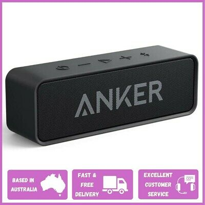 AU61.50 • Buy ANKER SoundCore Bluetooth Wireless Speaker With Loud Stereo Sound | BLACK