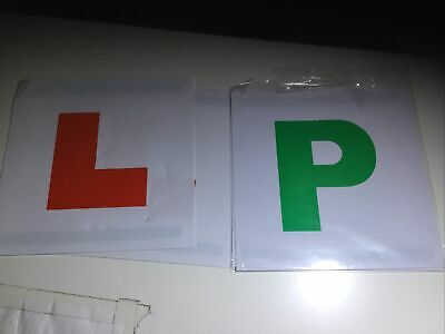 """Learner """"L"""" And """"P"""" Magnet Plate. • 2£"""