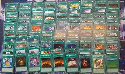 AU5.17 • Buy Yugioh - Spell Cards (mostly Near Mint ) - Lot Of 90 Cards