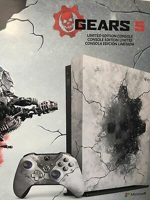 AU518.20 • Buy Microsoft Xbox One X 1TB Gears 5 Limited Edition Console With Accessories