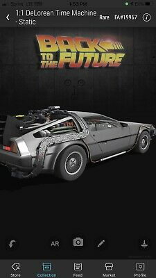 $80 • Buy VEVE NFT DeLorean RARE #19967 Out Of 25,500 Back To The Future