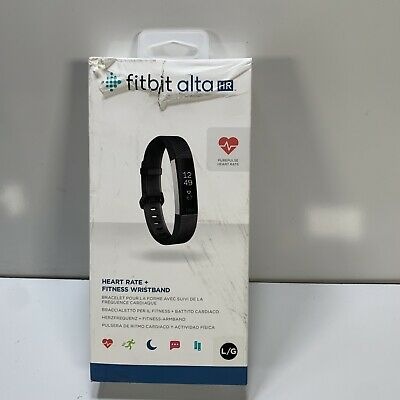 $ CDN169.47 • Buy Fitbit ALTA HR Heart Rate Fitness Wristband Black (Large)