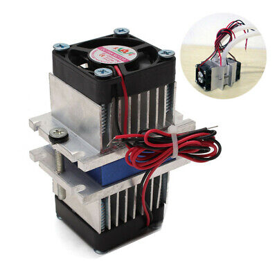 £9.21 • Buy DIY Kits Thermoelectric Peltier Cooler Refrigeration Cooling System +Fan Kits