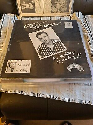 EX !! Mac Curtis/Good Rockin' Tomorrow : Rockabilly Uprising/1975 LP/USA Issue • 10.99£