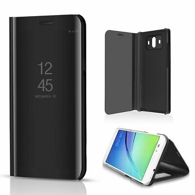 For Huawei P8/P9 Lite (2017) Flip Case Smart Mirror PU Leather Stand Cover • 4.36£