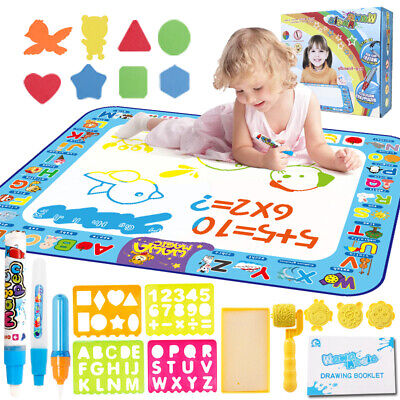 £17.80 • Buy Magic Water Drawing Mat Painting Writing Doodle Board Kids Educational Toys Gift