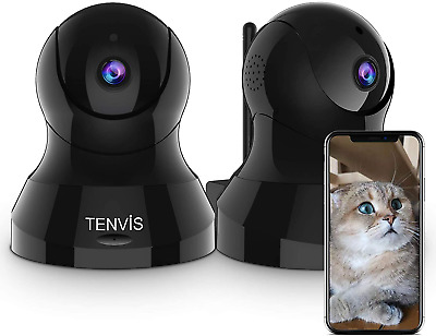 £74.01 • Buy Pet Camera - TENVIS Pet Security Wireless Indoor Security Camera System W/Motion