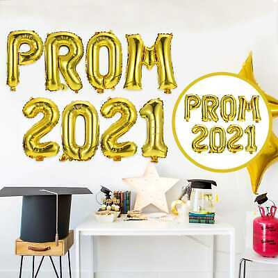 £3.87 • Buy 1 Set Graduation Party Balloons Decors PROM 2021 Design Party Balloon Decors New