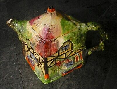 $ CDN43.18 • Buy Olde England Rubian Art Grimwades Pottery Large Teapot - Cottage Very Good Used