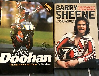 £21.39 • Buy Moto GP Books Mick Doohan Thunder From Down Under & Barry Sheen Biography