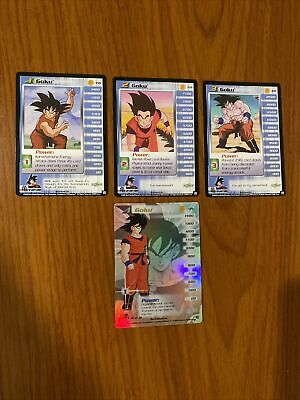AU89.99 • Buy Dragon Ball Z DBZ CCG Saiyan Saga Goku Level 1-3 + HT Personality Set