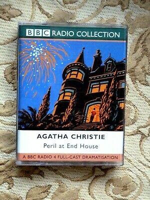 Agatha Christie - Peril At End House    - Audio Book -        ( 2  Cassettes) • 2.50£