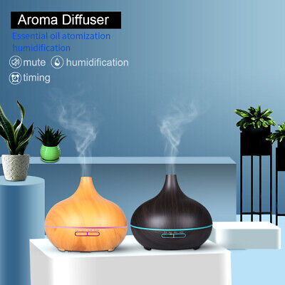 AU23.59 • Buy 550ML Aroma Aromatherapy Diffuser LED Oil Ultrasonic Air Humidifier Purifier