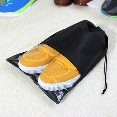 £8.97 • Buy 12 Pieces Home Non-Woven Portable Drawstring Shoe Bags Tidy Pouch Carrier
