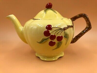 $ CDN215.90 • Buy Vintage Royal Winton Grimwades China Cherry / Cherries 2 Cup Tea Pot. Perfect!