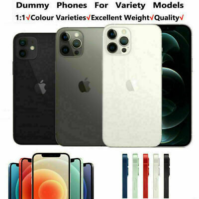 £8.99 • Buy 1:1 Non Working Dummy Model Display Fake Model For IPhone 12/Pro/12 Pro Max Mini