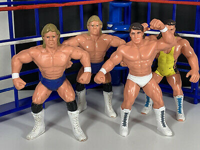$ CDN12.09 • Buy WWF WCW Galoob Lot Of 4! Lex Zenk Steiner Vintage Titan Sports LJN Hasbro WWE