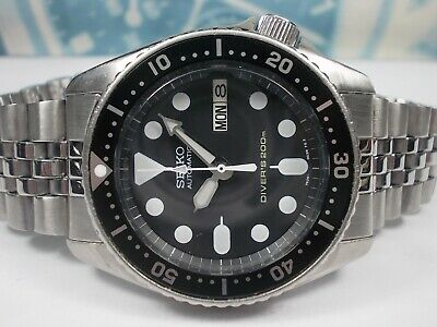 $ CDN228.71 • Buy Seiko Day/date Divers Skx013 Auto Midsize Watch 7s26-0030 Patina (sn 125138)